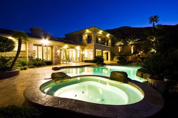 Beautiful Las Vegas Pool Homes